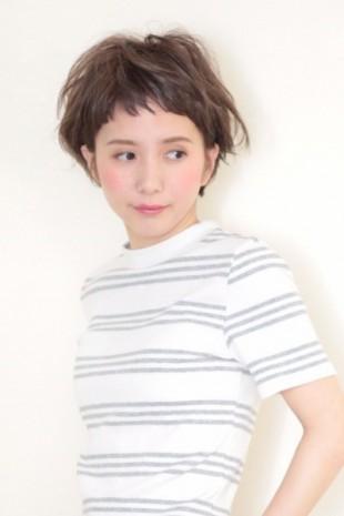 耳掛けマッシュショート(T☆7)