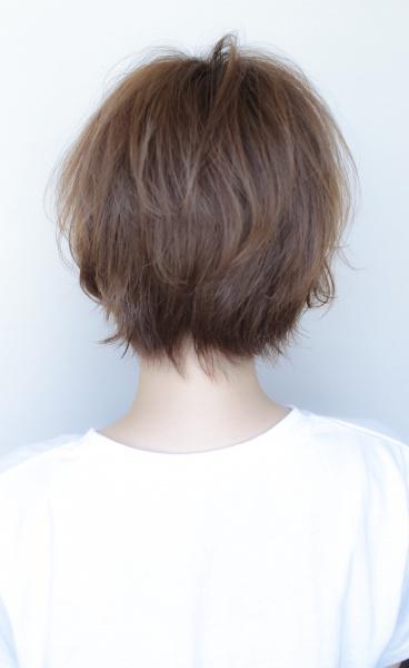 真木よう子さん風ショートヘア(TT-101)