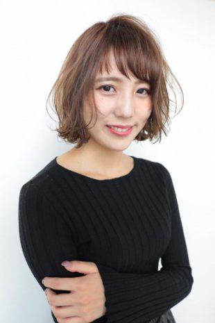 《Happiness 田中春奈》大人フェミニン外ハネボブ
